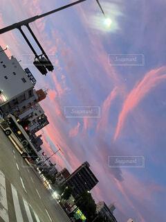 夕焼けの写真・画像素材[4876531]
