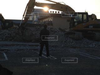 夕日の写真・画像素材[220886]
