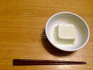 箸と豆腐の写真・画像素材[224148]