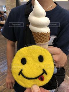 ソフトクリームの写真・画像素材[1510344]
