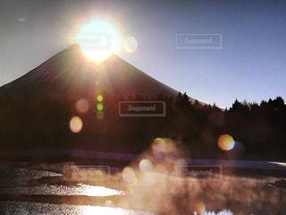 富士山,朝日,お正月,初日の出,ダイヤモンド富士,開運,初日出