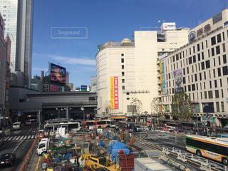 渋谷の再開発の写真・画像素材[319126]