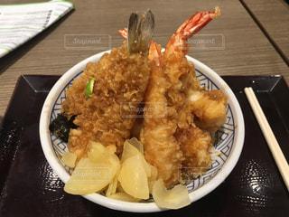フードコートで天丼 - No.522211