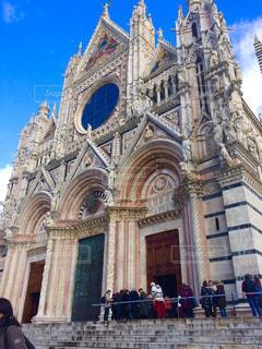 トスカーナの大聖堂の写真・画像素材[223684]