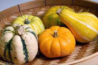 ハロウィンっぽいかぼちゃの写真・画像素材[1380551]