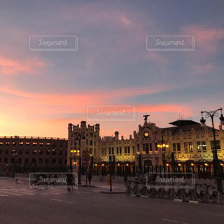 バレンシアの駅前の写真・画像素材[1714939]