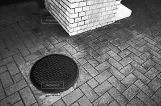 マンホールの写真・画像素材[1279684]