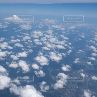 雲の上の写真・画像素材[4947380]