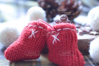 クリスマスの赤い靴下の写真・画像素材[894164]