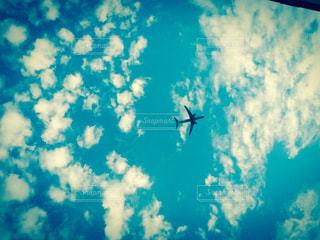 青い空に雲の写真・画像素材[898724]