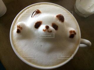 コーヒー カップのアップの写真・画像素材[938341]