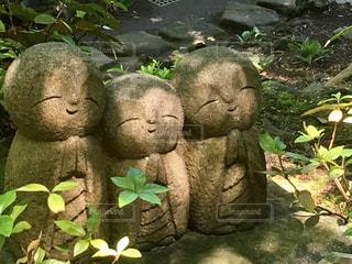 長谷寺の良縁地蔵の写真・画像素材[556858]