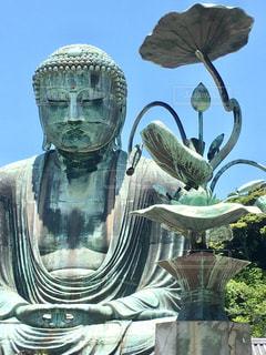 鎌倉の大仏の写真・画像素材[612842]