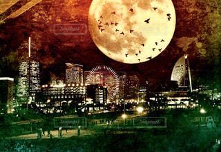みなとみらい夜景の写真・画像素材[1062277]
