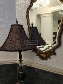鏡の写真・画像素材[228993]