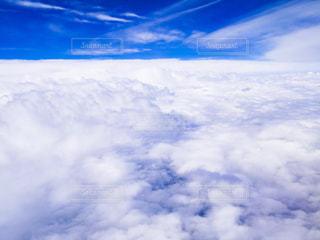 雲の上の写真・画像素材[381894]