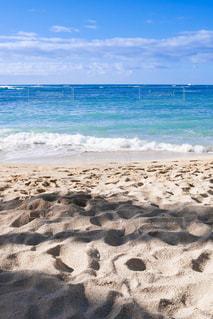 ハワイ ホノルル ワイキキビーチの写真・画像素材[500445]