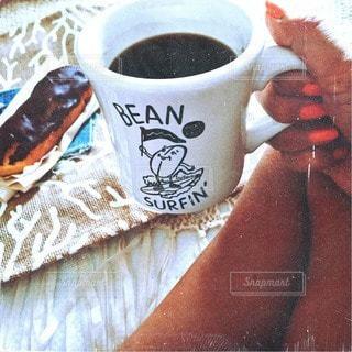 一杯のコーヒーの写真・画像素材[227]