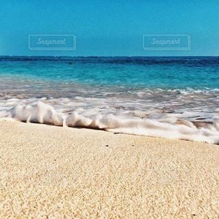 海の横にある砂浜のビーチの写真・画像素材[174]