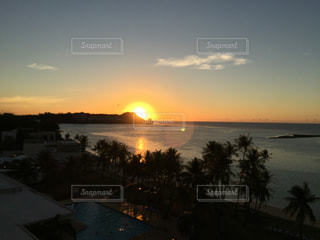 夕日の写真・画像素材[227611]