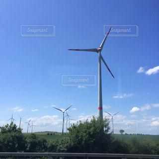 風車の写真・画像素材[228928]