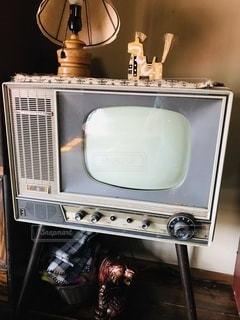 昭和のテレビの写真・画像素材[3500452]