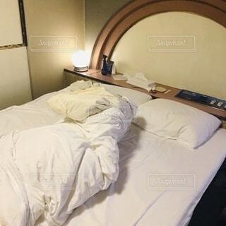 乱れたホテルの写真・画像素材[3841589]