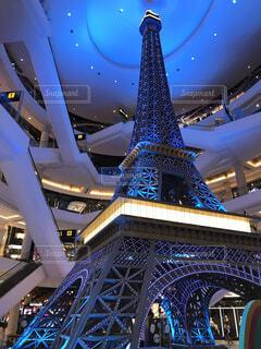 ショッピングモール内のタワーの写真・画像素材[3849149]