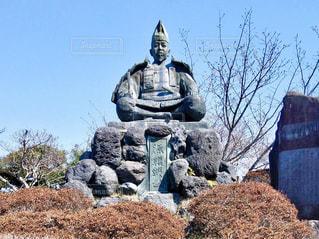 源氏山公園の銅像の写真・画像素材[1108834]