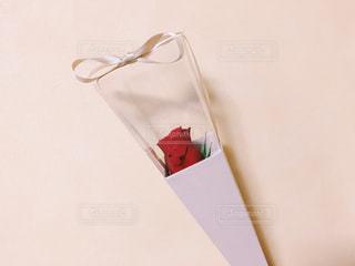 夫からのバレンタインプレゼントの写真・画像素材[1037595]