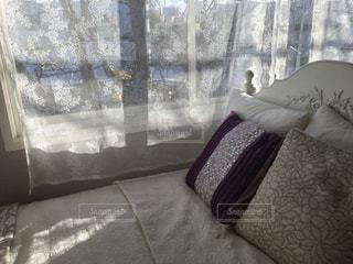 ベッドがある風景の写真・画像素材[1057967]