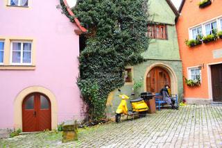建物 ローテンブルクの写真・画像素材[2141858]