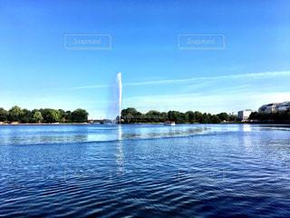湖の写真・画像素材[266778]