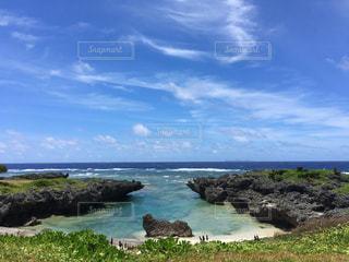 粟国島の海の写真・画像素材[233736]