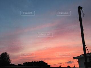 夕日の写真・画像素材[516784]