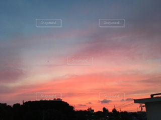 夕日の写真・画像素材[516785]