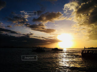 台湾の夕焼けの写真・画像素材[952917]