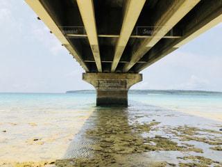 橋の下からの景色の写真・画像素材[1078827]