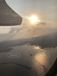 飛行機からの写真・画像素材[1086581]