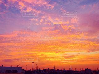 夕焼けの写真・画像素材[1526854]