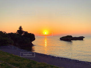夕日の写真・画像素材[1768193]