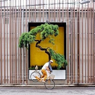 建物の前に自転車 - No.319