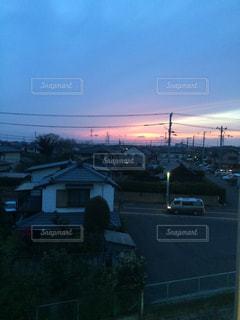 夕焼けの写真・画像素材[236159]