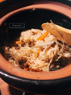 土鍋で炊き込みご飯 - No.736220