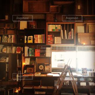 理想の本棚のブックカフェの写真・画像素材[763908]