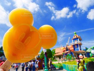 オレンジアイスの写真・画像素材[1016690]