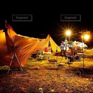 キャンプの写真・画像素材[6800]