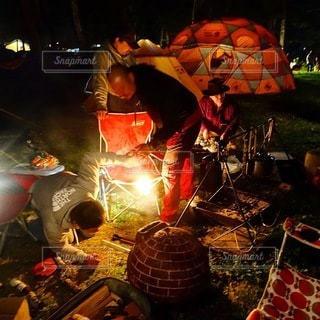 キャンプの写真・画像素材[6815]