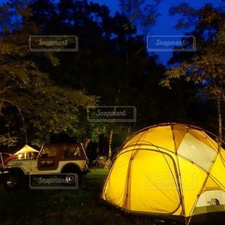 キャンプの写真・画像素材[6819]