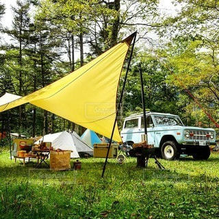 キャンプの写真・画像素材[6838]